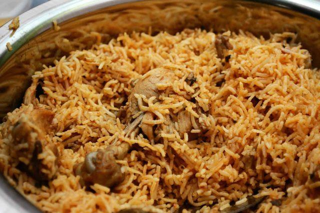 Inde - Chicken Biryani