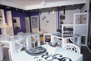 salon design et convivial